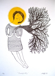 'Tree Girl' by Mina Braun