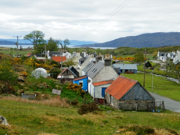 The crofting village of Duirinish, Lochalsh